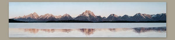 Painting of Grand Tetons